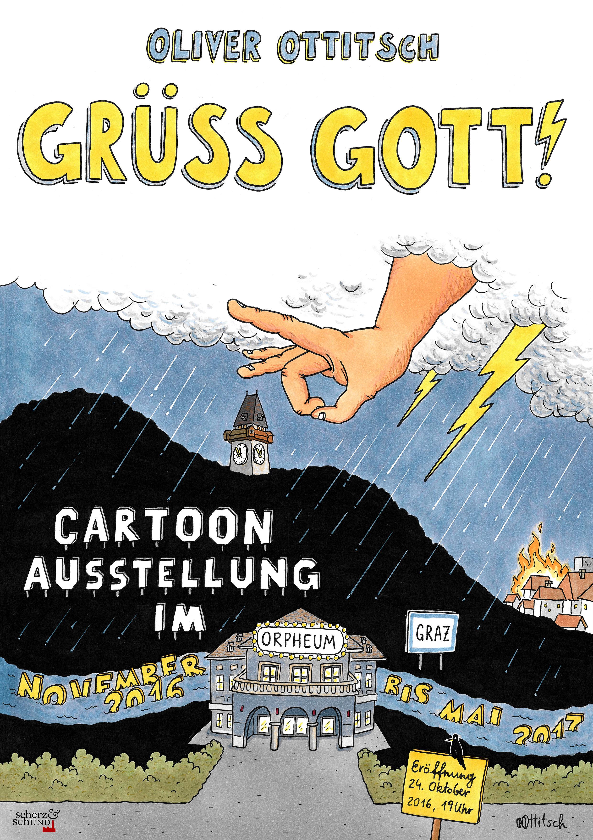 Ausstellung in Graz - Gruess Gott!