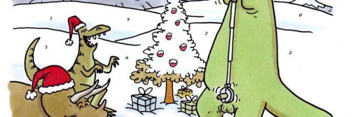 Weihnachten im Dinoland